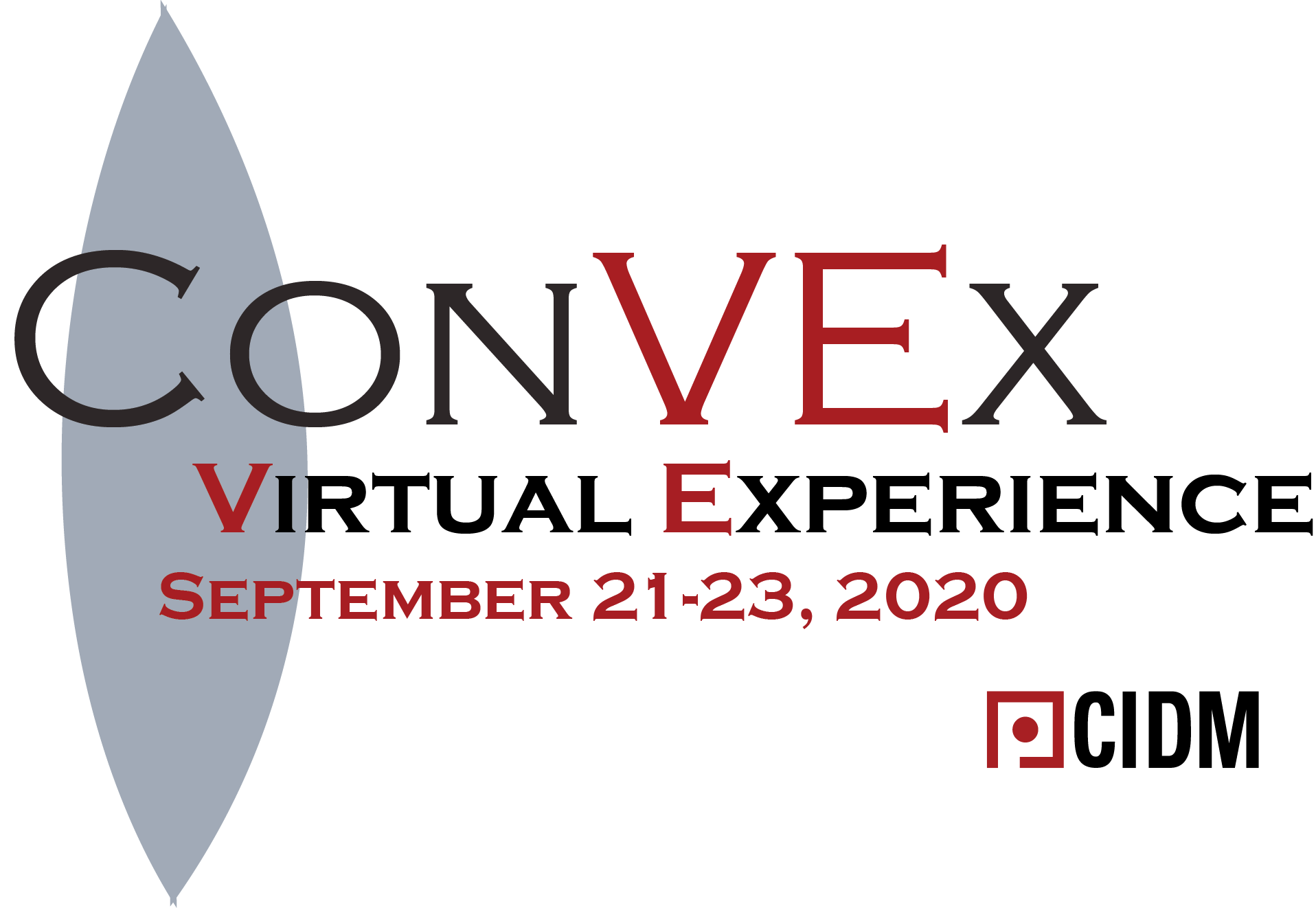 ConVex 2020 Virtual Conference Logo